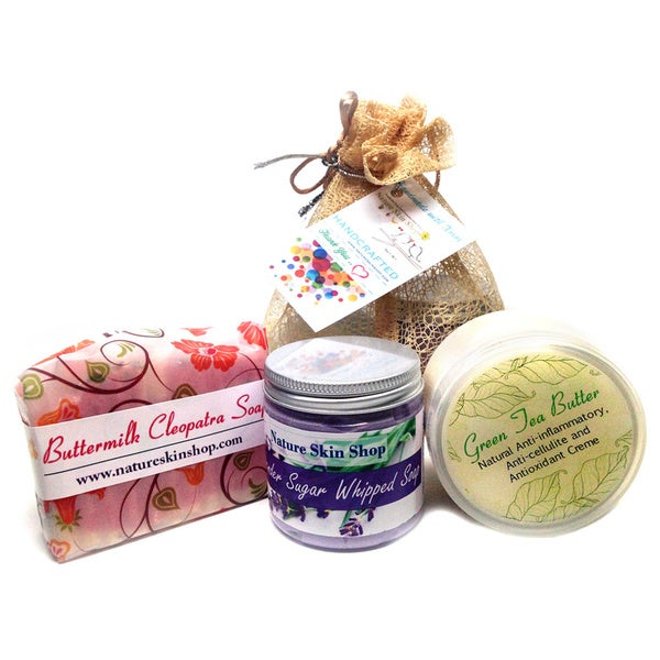 Glorious Artisan 3-piece Bath Spa Gift Set