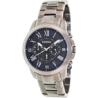 Fossil Men's FS4831 'Grant' Chronograph Stainless Steel Watch