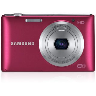 Samsung ST150F Smart 16.2MP Red Digital Camera
