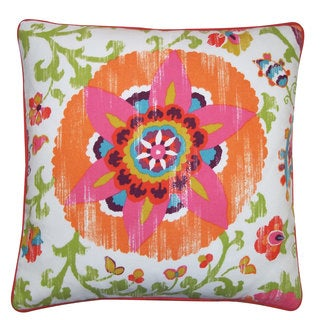 Petal Red Pillow