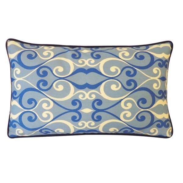 Jiti Iron Blue Pillow