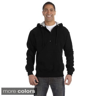 Champion Men's 90/10 Cotton Max Quarter-zip Hoodie