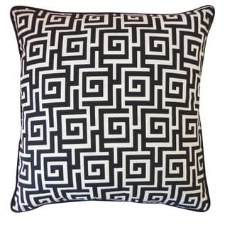Puzzle Black Pillow