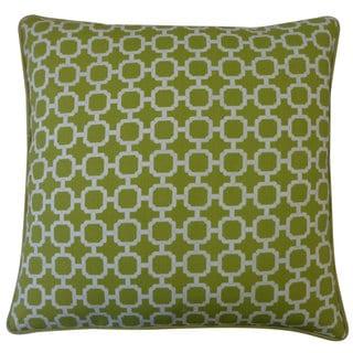 Blocks Green Pillow