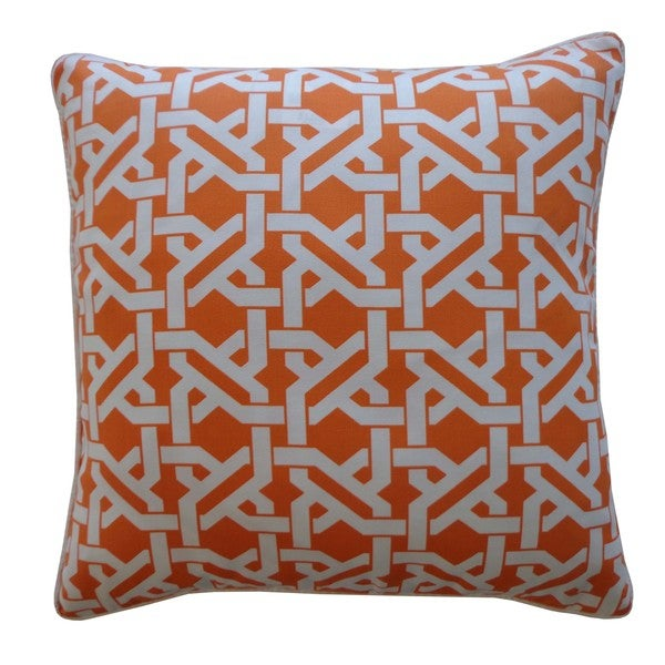 Istanbul Orange Pillow