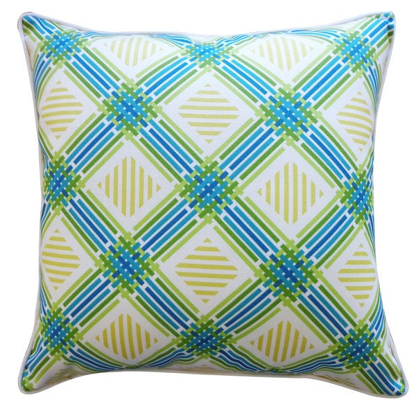 Argyle Green Pillow