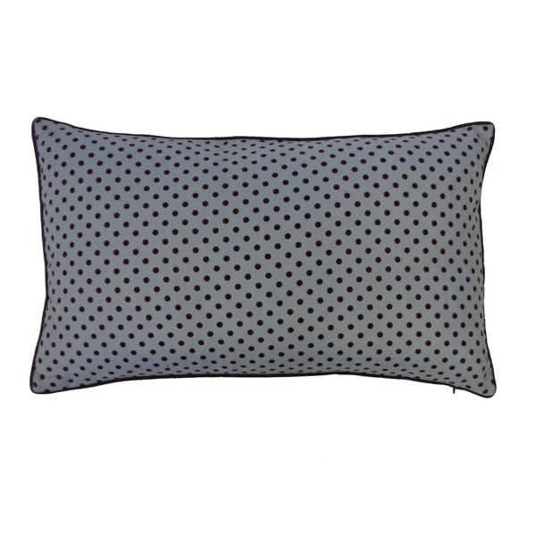 Mini Polka Black and Blue Kids Pillow