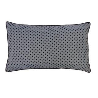 Mini Polka Black and Blue Kids Pillow