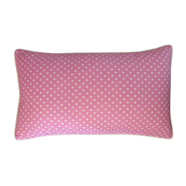 Mini Polka White Kids Pillow