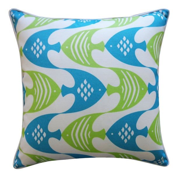 Fly Green Pillow