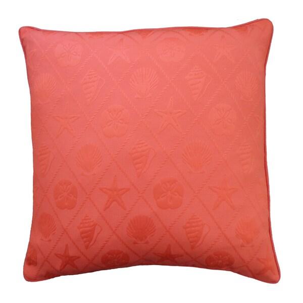 Shell Orange Pillow