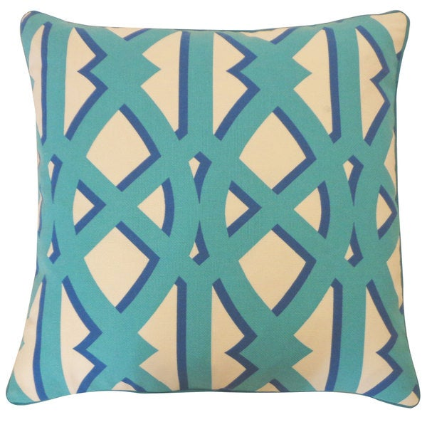 Trap Blue Pillow