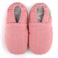 Intant Checkered Soft Leather Sole Shoes