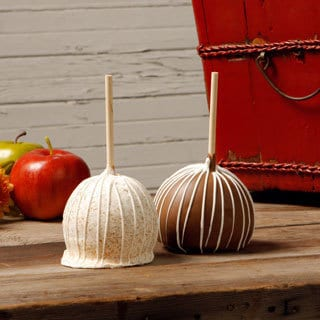 Aly's Apples Classic Extra Large Caramel Apples (Pack of 2)