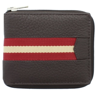 Unico Corp Fashion Men's Leather Bi-fold Wallet