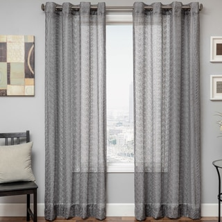 Ariel Sheer Grommet Top Curtain Panel