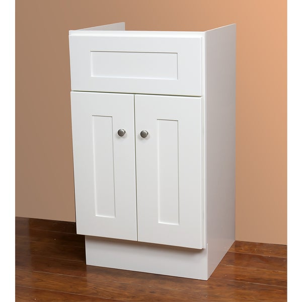 Small Linen White Bathroom Vanity 16347217 Overstock