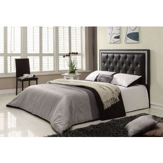 Breen Black Finish Queen Headboard