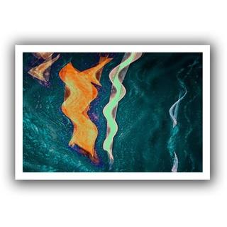 Dean Uhlinger 'The Depths' Unwrapped Canvas