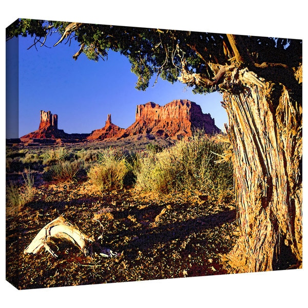 Dean Uhlinger 'Monument Valley Morn' Gallery-wrapped Canvas