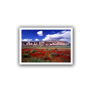Dean Uhlinger 'Dinosaur Colorado' Unwrapped Canvas