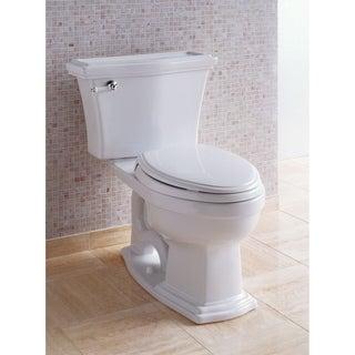 Toto Clayton CST784EF-01 Cotton White Eco Elongated Toilet