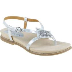 Women's Earthies Tello Silver Dristressed Leather