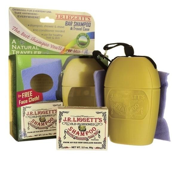 J.R. Liggett Travel-sized Natural Traveler with Original Shampoo Bar
