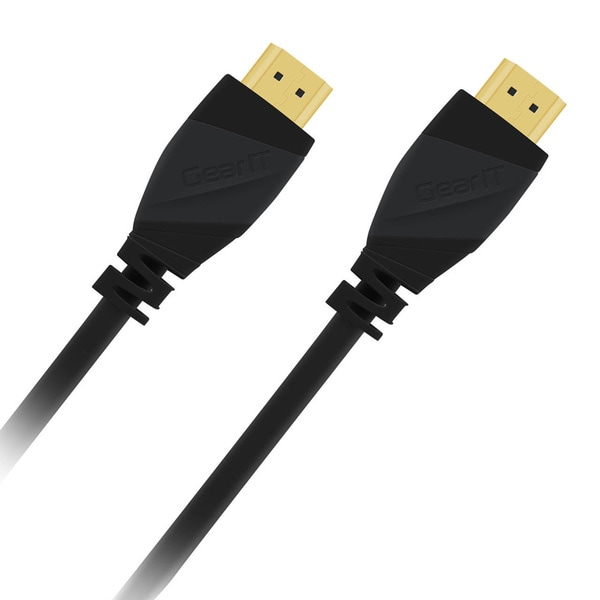 GearIT High-speed Black 2.0 HDMI Cable