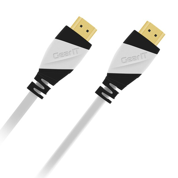 GearIT High-Speed White 2.0 HDMI Cable (Pack of 10)