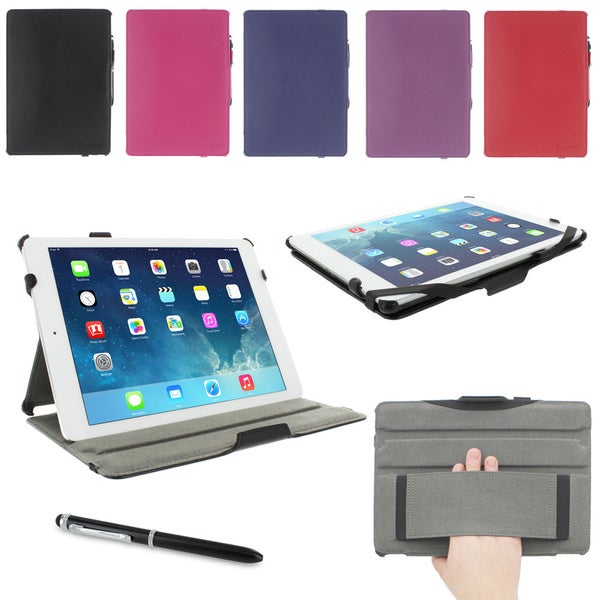 rooCASE Slim-Fit Folio Case Cover for iPad