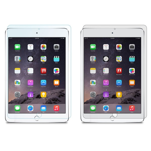 rooCASE 4-Pack Screen Protectors LCD Film Guard (2x Anti-Glare & 2x HD Clear) for Apple iPad Mini Re