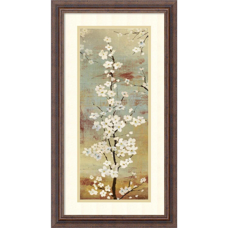 Overstock.com Asia Jensen 'Blossom Canopy II' Framed Art Print 14 x 26-inch at Sears.com