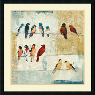 Avery Tillmon 'The Usual Suspects' Framed Art Print 34 x 34-inch