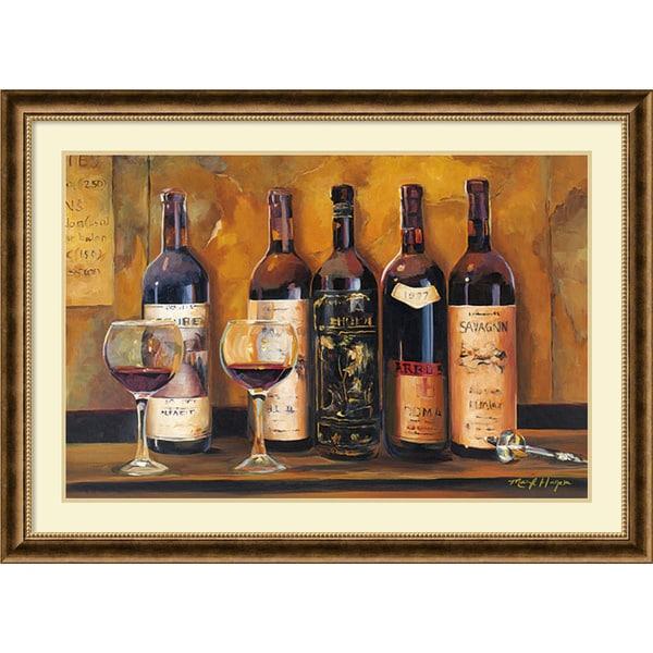 Marilyn Hageman 'Cellar Reds' Framed Art Print 44 x 32-inch