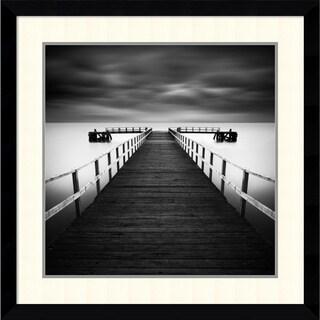Rob Cherry 'Hamworthy' Framed Art Print 33 x 33-inch