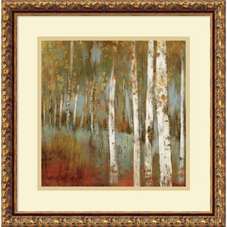 Allison Pearce 'Along the Path I' Framed Art Print 18 x 18-inch