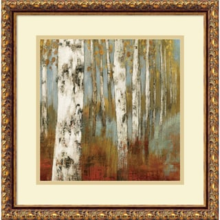 Allison Pearce 'Along the Path II' Framed Art Print 18 x 18-inch