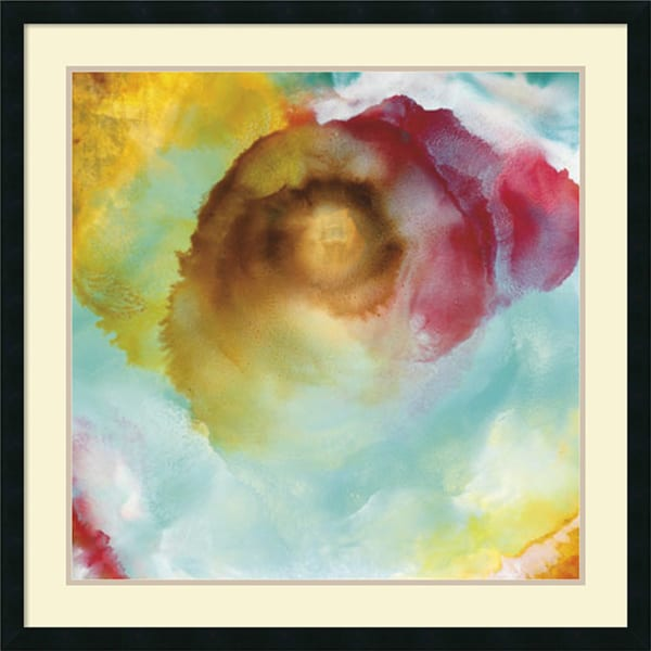 Sky Flower' Framed Art Print 34 x 34-inch