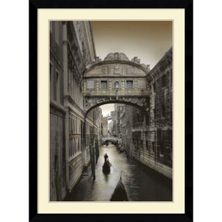 William Vanscoy 'Don't Look Back' Framed Art Print 31 x 43-inch