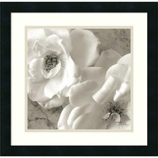 Sondra Wampler 'Poppy Study III' Framed Art Print 18 x 18-inch