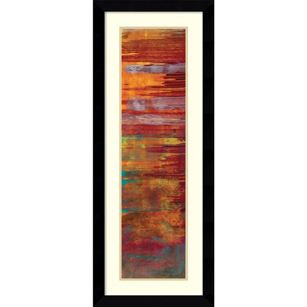 Erin Galvez 'The Four Seasons: Winter' Framed Art Print 17 x 43-inch
