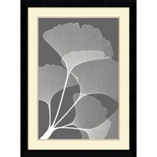 Steven N. Meyers 'Gingkos II' Framed Art Print 26 x 35-inch