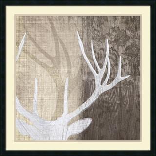 Tandi Venter 'Deer Lodge II' Framed Art Print 34 x 34-inch