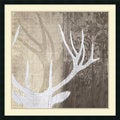 Tandi Venter 'Deer Lodge II' Framed Art Print 34 x 34-inch