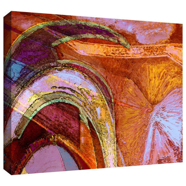 Dean Uhlinger 'Ne The' Gallery-wrapped Canvas