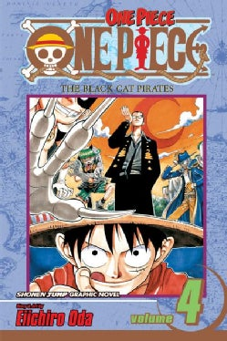 One Piece 4: The Black Cat Pirates (Paperback)