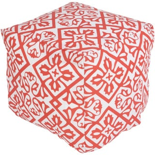 Four Leaf Outdoor/ Indoor Decorative Cube Pouf