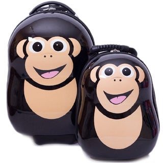 Cuties & Pals Children's Cheeki Chimp Hardside Luggage Set