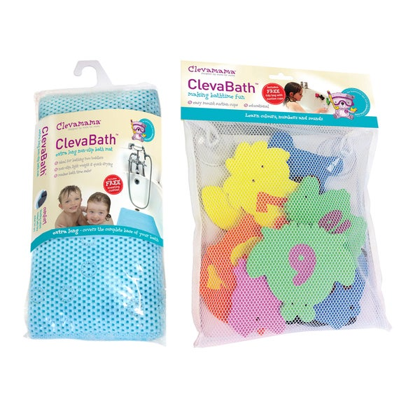 Clevamama Baby Bath Time Set